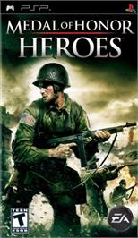 Box cover for Medal of Honor: Heroes on the Sony PSP.
