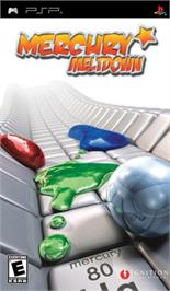 Box cover for Mercury Meltdown on the Sony PSP.