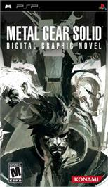 Box cover for Metal Gear Solid: Digital Graphic Novel on the Sony PSP.