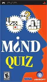 Box cover for Mind Quiz on the Sony PSP.