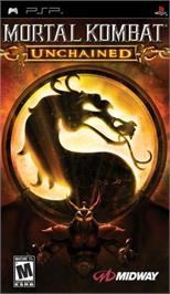 Box cover for Mortal Kombat: Unchained on the Sony PSP.
