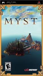 Box cover for Myst on the Sony PSP.