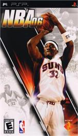 Box cover for NBA 6 on the Sony PSP.