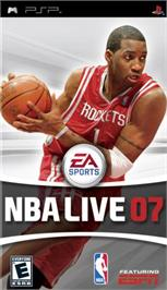 Box cover for NBA Live 7 on the Sony PSP.