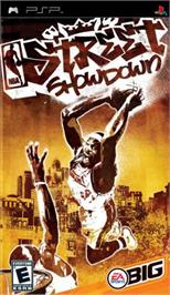 Box cover for NBA Street Showdown on the Sony PSP.