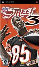Box cover for NFL Street 3 on the Sony PSP.