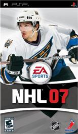 Box cover for NHL 7 on the Sony PSP.