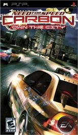 Box cover for Need for Speed: Carbon - Own the City on the Sony PSP.