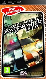 Box cover for Need for Speed: Most Wanted 5-1-0 on the Sony PSP.