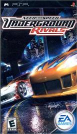 Box cover for Need for Speed Underground: Rivals on the Sony PSP.