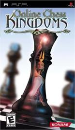 Box cover for Online Chess Kingdoms on the Sony PSP.