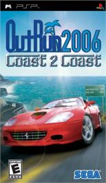 Box cover for Out Run 2006: Coast 2 Coast on the Sony PSP.