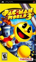 Box cover for Pac-Man World 3 on the Sony PSP.