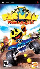 Box cover for Pac-Man World Rally on the Sony PSP.