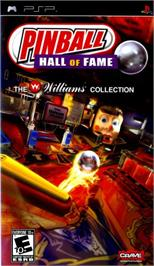 Box cover for Pinball Hall of Fame: The Gottlieb Collection on the Sony PSP.