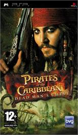Box cover for Pirates of the Caribbean: Dead Man's Chest on the Sony PSP.