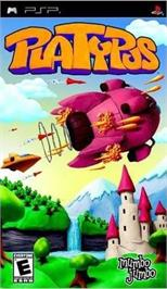Box cover for Platypus on the Sony PSP.