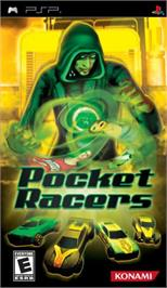 Box cover for Pocket Racers on the Sony PSP.