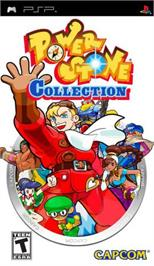 Box cover for Power Stone Collection on the Sony PSP.