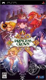 Box cover for Princess Crown on the Sony PSP.