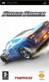 Box cover for Ridge Racer on the Sony PSP.