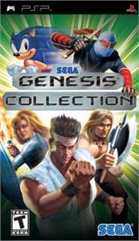 Box cover for SEGA Genesis Collection on the Sony PSP.