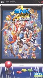 Box cover for SNK Arcade Classics Vol. 1 on the Sony PSP.