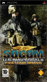 Box cover for SOCOM: U.S. Navy SEALs - Tactical Strike on the Sony PSP.