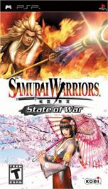 Box cover for Samurai Warriors: State of War on the Sony PSP.
