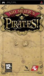 Box cover for Sid Meier's Pirates on the Sony PSP.