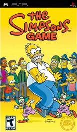 Box cover for Simpsons Game on the Sony PSP.