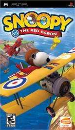 Box cover for Snoopy vs. the Red Baron on the Sony PSP.