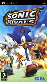 Box cover for Sonic Rivals on the Sony PSP.