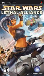 Box cover for Star Wars: Lethal Alliance on the Sony PSP.