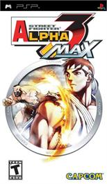 Box cover for Street Fighter Alpha: Warriors' Dreams on the Sony PSP.