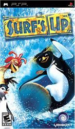 Box cover for Surf's Up on the Sony PSP.