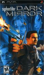 Box cover for Syphon Filter: Dark Mirror on the Sony PSP.