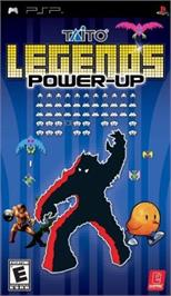 Box cover for Taito Legends: Power-Up on the Sony PSP.