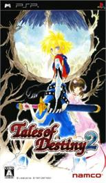Box cover for Tales of Destiny 2 on the Sony PSP.