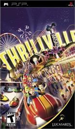Box cover for Thrillville on the Sony PSP.