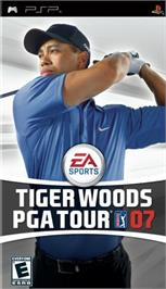 Box cover for Tiger Woods PGA Tour 7 on the Sony PSP.