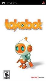 Box cover for Tokobot on the Sony PSP.