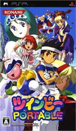 Box cover for TwinBee on the Sony PSP.