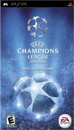 Box cover for UEFA Champions League 2006-2007 on the Sony PSP.