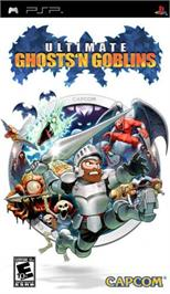 Box cover for Ultimate Ghosts 'N' Goblins on the Sony PSP.