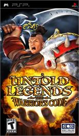 Box cover for Untold Legends: The Warrior's Code on the Sony PSP.