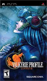 Box cover for Valkyrie Profile: Lenneth on the Sony PSP.