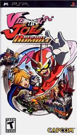 Box cover for Viewtiful Joe: Red Hot Rumble on the Sony PSP.