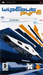 Box cover for WipEout Pulse on the Sony PSP.
