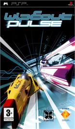 Box cover for WipEout Pure on the Sony PSP.
